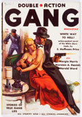 Pulps:Detective, Double-Action Gang Magazine V1#1 (Columbia, 1937) Condition: VG+....