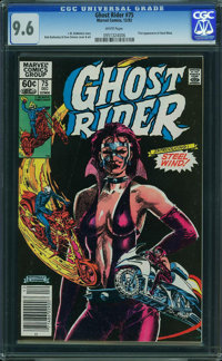 Ghost Rider #75 (Marvel, 1982) CGC NM+ 9.6 WHITE pages