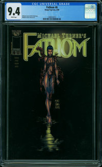Fathom #6 (Image, 1999) CGC NM 9.4 WHITE pages