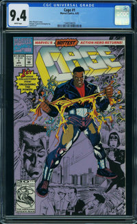 Cage #1 (Marvel, 1992) CGC NM 9.4 WHITE pages