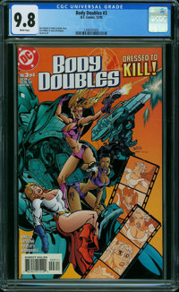 Body Doubles #3 (DC, 1999) CGC NM/MT 9.8 WHITE pages