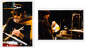 Music Memorabilia:Photos, The Band Color Photos by Nancy Andrews with Slides and FullCopyright (1986)....