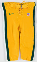 Football Collectibles:Uniforms, 2000 Danny Wuerffel Green Bay Packers Game Worn Pants....