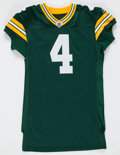 Football Collectibles:Uniforms, 2011 Brett Favre Pro Cut Green Bay Packers Jersey - Obtained from Team....