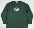 Football Collectibles:Uniforms, Jermichael Finley Green Bay Packers Practice Worn Shirt....