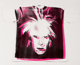 Andy Warhol (1928-1987) Self-Portrait with Fright Wig, circa 1986 Silkscreen on cotton (XXL) T-Shirt 33-1/2 x 40 inch