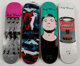 Alien Workshop X The Andy Warhol Foundation Set of Four Skate Decks, 2010 Silkscreen on skate deck 8 x 31-3/4 inches...