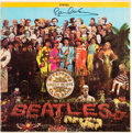Music Memorabilia:Autographs and Signed Items, Beatles - Paul McCartney Signed Sgt. Pepper's Lonely Hearts ClubBand Stereo LP (Capitol SMAS 2653, 1967). ...