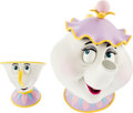 Animation Art:Maquette, Beauty and the Beast Mrs. Potts and Chip Maquettes (WaltDisney, 1991).... (Total: 3 Items)
