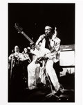 Music Memorabilia:Photos, Jimi Hendrix Limited Edition Print By Jim Cummins Of Performance inNew York (1969)....
