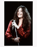Music Memorabilia:Photos, Janis Joplin Limited Edition Print By Jim Cummins Of Performance onEd Sullivan Show (1969)....