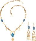 """Movie/TV Memorabilia:Costumes, A Lucy Lawless Suite of Jewelry from """"Spartacus: War of the Damned"""" (aka """"Spartacus: Blood and Sand"""").... (Total: 2 Items)"""