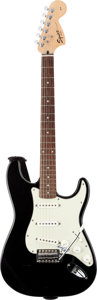Musical Instruments:Electric Guitars, Chuck Berry Signed Fender Squier Stratocaster Guitar....