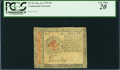 Colonial Notes:Continental Congress Issues, Continental Currency January 14, 1779 $5 PCGS Very Fine 20.. ...