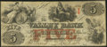 Obsoletes By State:Maryland, Hagerstown, MD- Valley Bank of Maryland $5 Jan. 31, 1856. ...