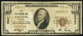 National Bank Notes:Missouri, Gallatin, MO - $10 1929 Ty. 1 The First NB Ch. # 5827. ...