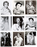 Movie/TV Memorabilia:Photos, A Vivien Leigh Large Collection of Black and White Stills,1940s-1970s....