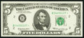 Small Size:Federal Reserve Notes, Fr. 1969-B* $5 1969 Federal Reserve Star Note. Choice Crisp Uncirculated.. ...