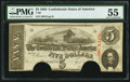 Confederate Notes:1863 Issues, T60 $5 1863 PF-24 Cr. 462.. ...