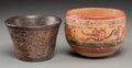 Pre-Columbian:Ceramics, Two Pre-Columbian Bowls... (Total: 2 Items)