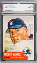 Baseball Cards:Singles (1950-1959), 1953 Topps Mickey Mantle #82 PSA NM 7....
