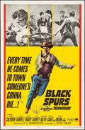 "Movie Posters:Western, Black Spurs & Others Lot (Paramount, 1965). One Sheets (3) (27"" X 41""). Western.. ... (Total: 3 Items)"