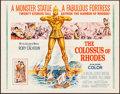 "Movie Posters:Adventure, The Colossus of Rhodes (MGM, 1961). Half Sheet (22"" X 28"").Adventure.. ..."