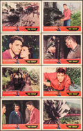 """Movie Posters:War, The Train (United Artists, 1965). Lobby Card Set of 8 (11"""" X 14"""").War.. ... (Total: 8 Items)"""