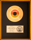 "Music Memorabilia:Awards, Marvin Gaye ""Sexual Healing"" RIAA Gold Record Sales Award Presentedto Marilyn Freeman (1982)...."