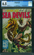 Silver Age (1956-1969):Adventure, Showcase 29 Sea Devils (DC, 1960) CGC FN+ 6.5 OFF-WHITE TO WHITE pages.