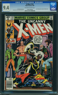 X-Men #132 (Marvel, 1980) CGC NM 9.4 OFF-WHITE TO WHITE pages