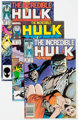 The Incredible Hulk Group of 24 (Marvel, 1987-92) Condition: Average NM-.... (Total: 24 Comic Books)