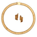 Estate Jewelry:Suites, Gold Jewelry Suite . ... (Total: 2 Items)