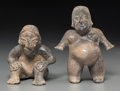 Pre-Columbian:Ceramics, A Jalisco Couple... (Total: 2 Items)