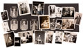 Movie/TV Memorabilia:Photos, A Frank Sinatra Massive Collection of Rare or Never-Before-SeenBlack and White Snapshots, 1940s....