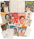 Movie/TV Memorabilia:Documents, A Frank Sinatra-Related Massive Archive of Paper Ephemera from HisFan Club President, 1940s.... (Total: 4 Items)