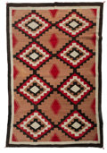 American Indian Art:Weavings, A Navajo Regional Rug. c. 1960...