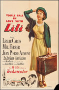 """Movie Posters:Musical, Lili (MGM, 1953). One Sheet (27"""" X 41""""). Musical.. ..."""