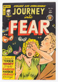 Golden Age (1938-1955):Horror, Journey Into Fear #4 (Superior Comics, 1951) Condition: FN....