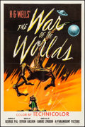 "Movie Posters:Science Fiction, The War of the Worlds (Paramount, 1953). One Sheet (27"" X 41"").Science Fiction.. ..."
