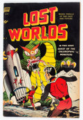 Golden Age (1938-1955):Science Fiction, Lost Worlds #5 (Standard, 1952) Condition: VG+....