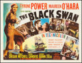 "Movie Posters:Adventure, The Black Swan (20th Century Fox, 1942). Half Sheet (22"" X 28"")Style A. Adventure.. ..."