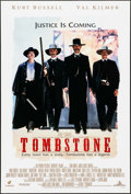 "Movie Posters:Western, Tombstone (Buena Vista, 1993). One Sheet (27"" X 40""). DS. Western.. ..."