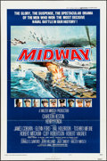 "Movie Posters:War, Midway (Universal, 1976). One Sheet (27"" X 41""). War.. ..."