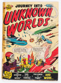 Golden Age (1938-1955):Science Fiction, Journey Into Unknown Worlds #36 (#1) (Atlas, 1950) Condition:FR/GD....