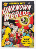 Golden Age (1938-1955):Science Fiction, Journey Into Unknown Worlds #37 (#2) (Atlas, 1950) Condition:VG+....