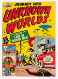 Golden Age (1938-1955):Horror, Journey Into Unknown Worlds #38 (#3) (Atlas, 1951) Condition:VG/FN....