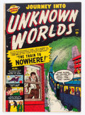 Golden Age (1938-1955):Science Fiction, Journey Into Unknown Worlds #4 (Atlas, 1951) Condition: FN-....