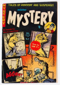 Golden Age (1938-1955):Horror, Mister Mystery #9 (Aragon, 1953) Condition: VG/FN....