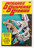 Golden Age (1938-1955):Horror, Strange Suspense Stories #1 (Fawcett Publications, 1952) Condition:VG/FN....